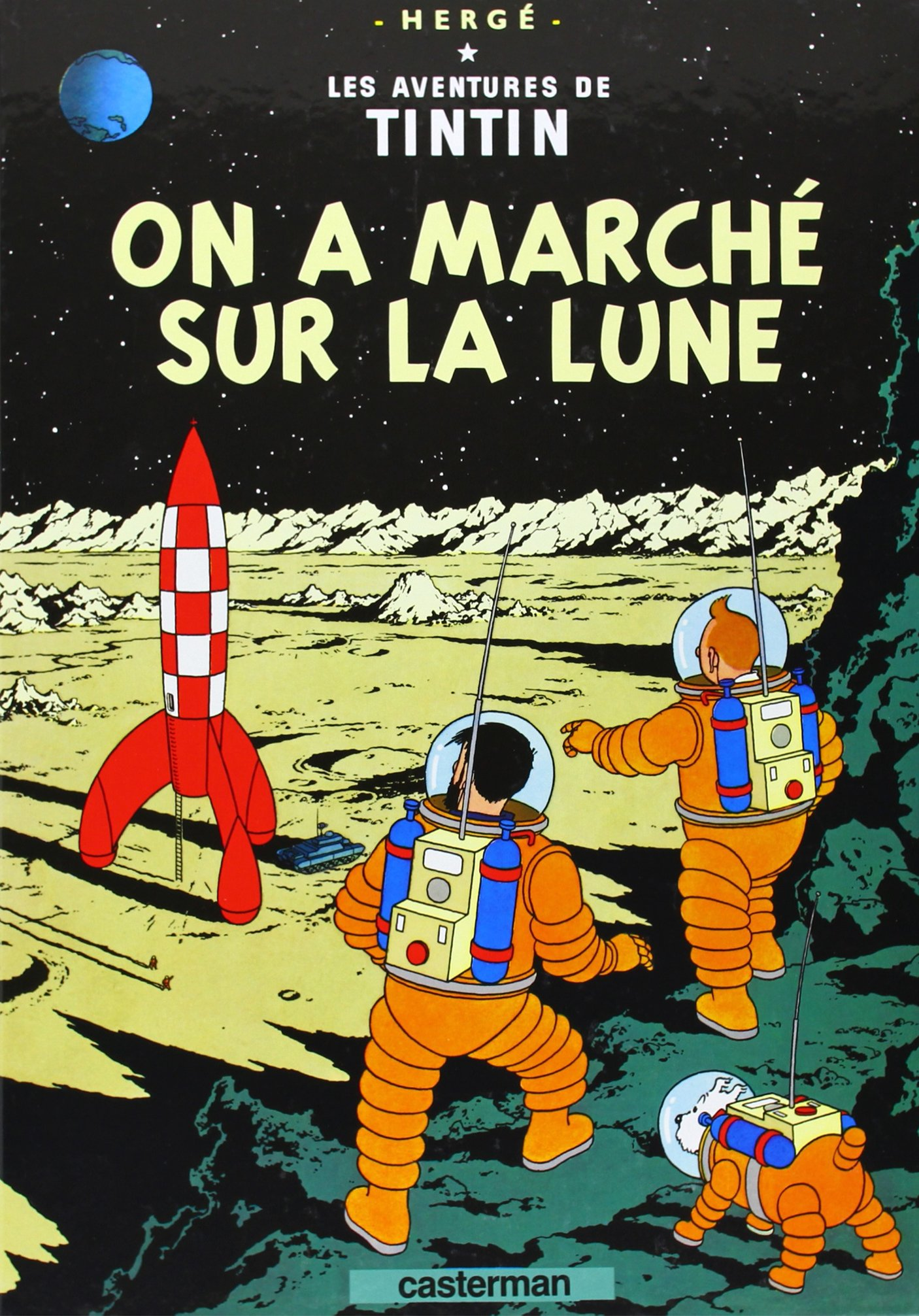 tintin on a marche
